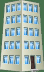 cartoon clipart buildings transparent building webstockreview
