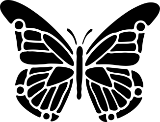 Butterfly clipart silhouette Butterfly silhouette Transparent FREE for download on WebStockReview 2020