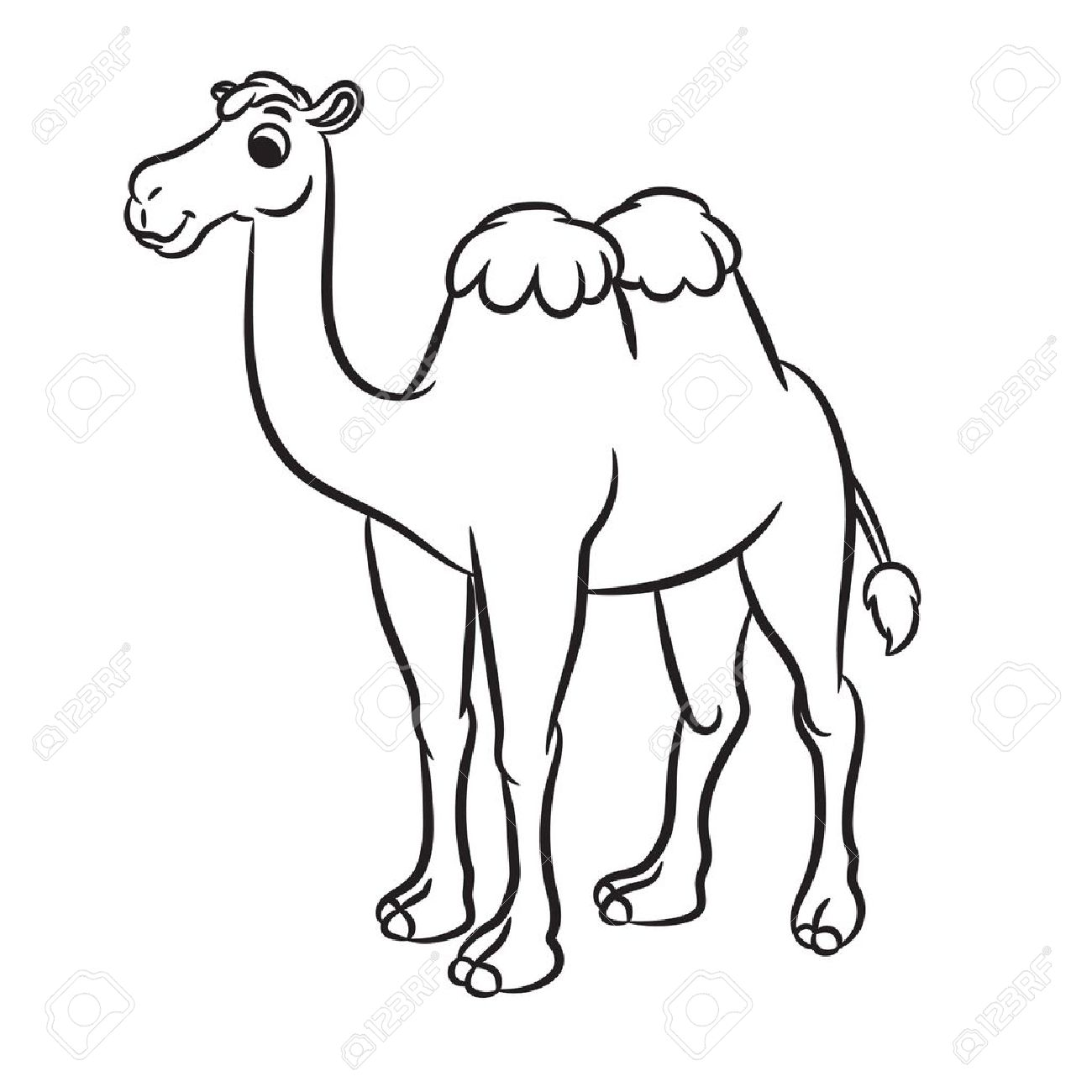 Camel Clipart Black And White Camel Black And White