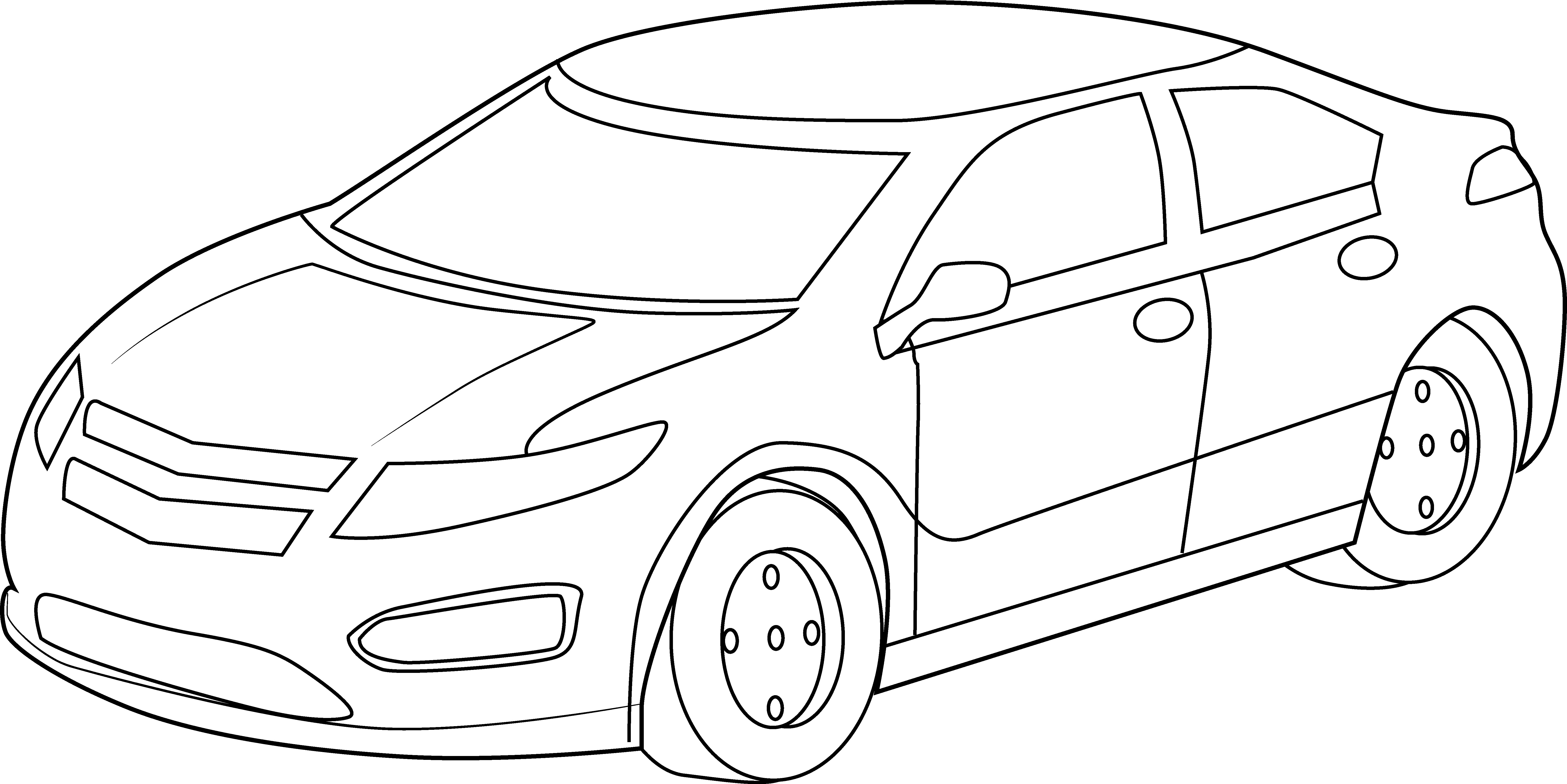 Cars Clipart Outline Cars Outline Transparent Free For