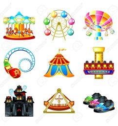 free carnival clipart amusement park [ 1300 x 1300 Pixel ]
