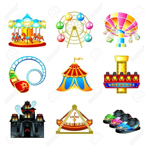 small resolution of free carnival clipart amusement park