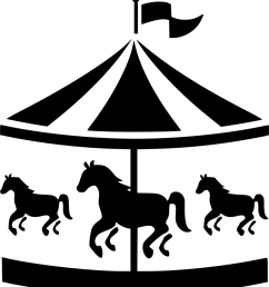 carousel clipart svg png icon free download [ 868 x 980 Pixel ]