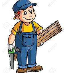 carpentry cliparts stock vector carpenter clipart community helper [ 1105 x 1300 Pixel ]
