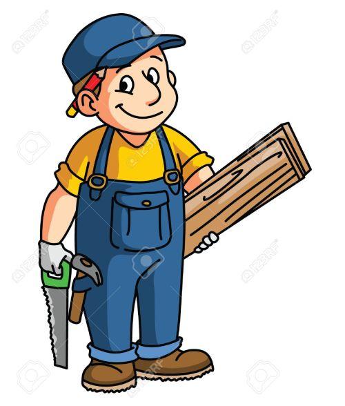 small resolution of carpentry cliparts stock vector carpenter clipart community helper