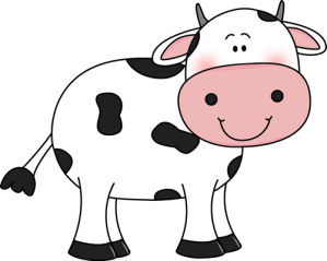 easy clipart cattle cow simple drawing webstockreview