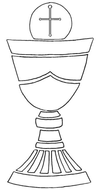 Chalice clipart outline, Chalice outline Transparent FREE