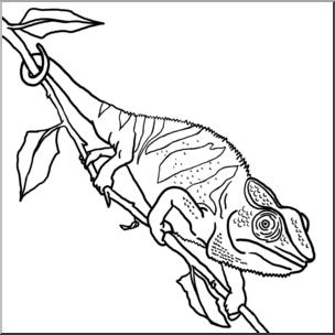 Chameleon clipart chamelion, Chameleon chamelion