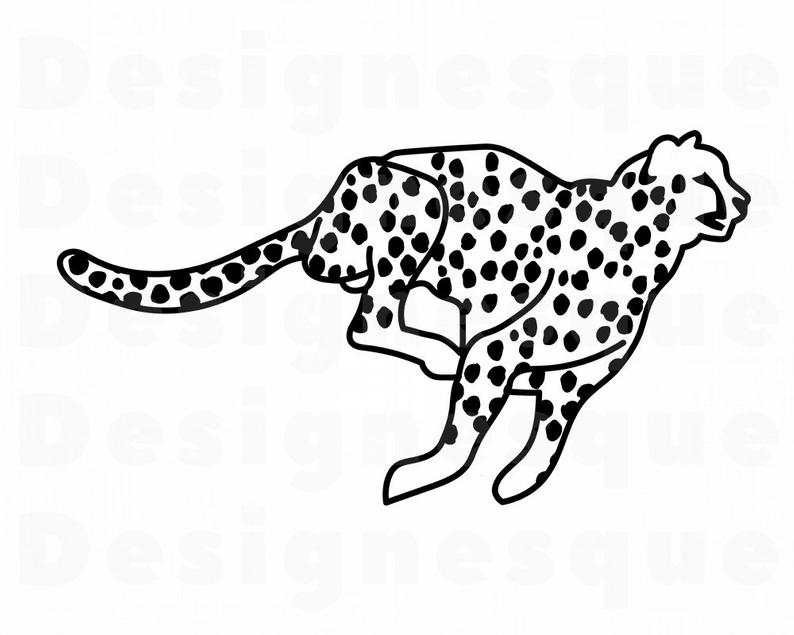 Cheetah clipart file, Cheetah file Transparent FREE for