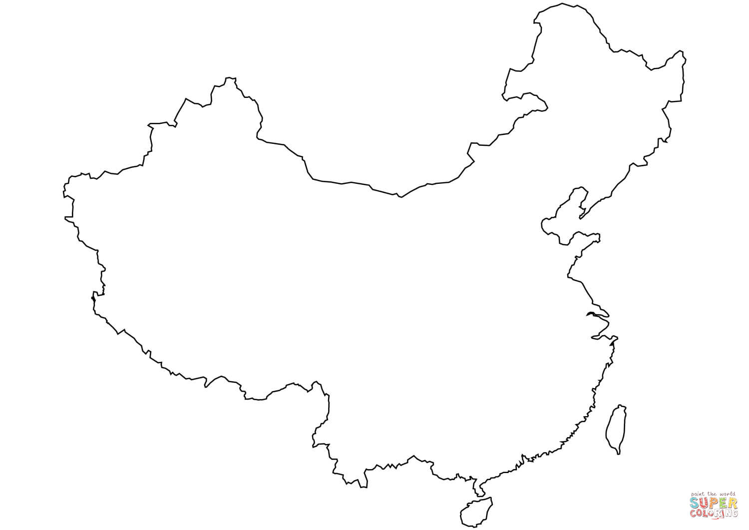 China Clipart Map China Map Transparent Free For Download