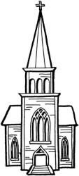 Church clipart black and white Picture #355691 church clipart black and white