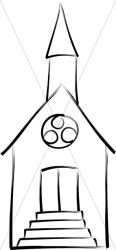 church outline clipart chapel drawing wedding brushstroke chapels earth combined country steeple silhouette spire drawings transparent colors sharefaith clipground webstockreview