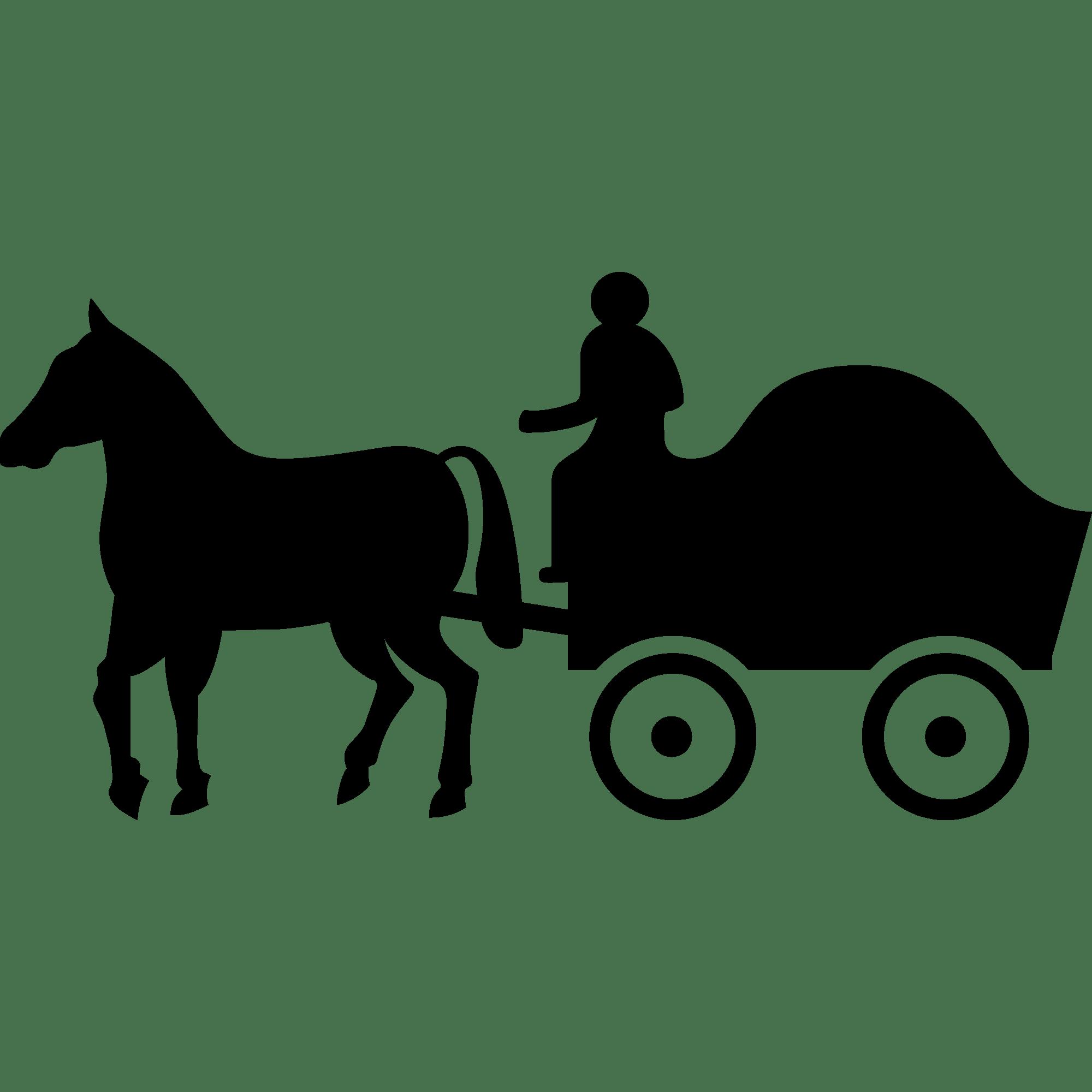 Pioneer Clipart Horse Drawn Wagon Pioneer Horse Drawn