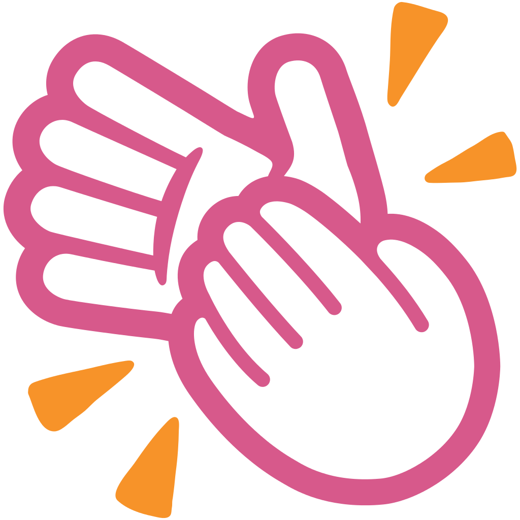 hight resolution of clap clipart clapping