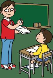 clipart teacher student male cartoon professor english teachers tense transparent classroom teach vector cartoons room past duty simple domain boys