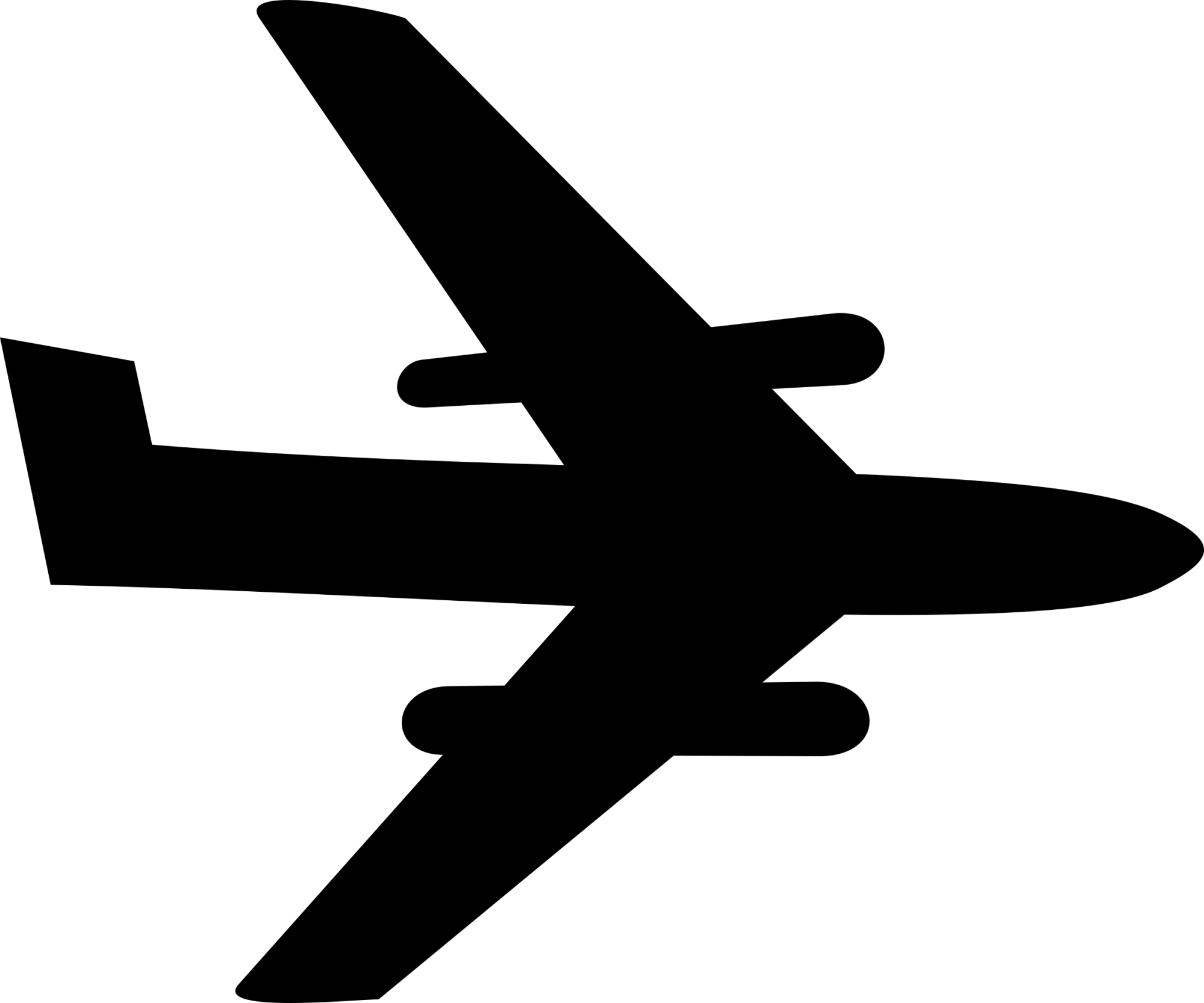 hight resolution of airplane big image png