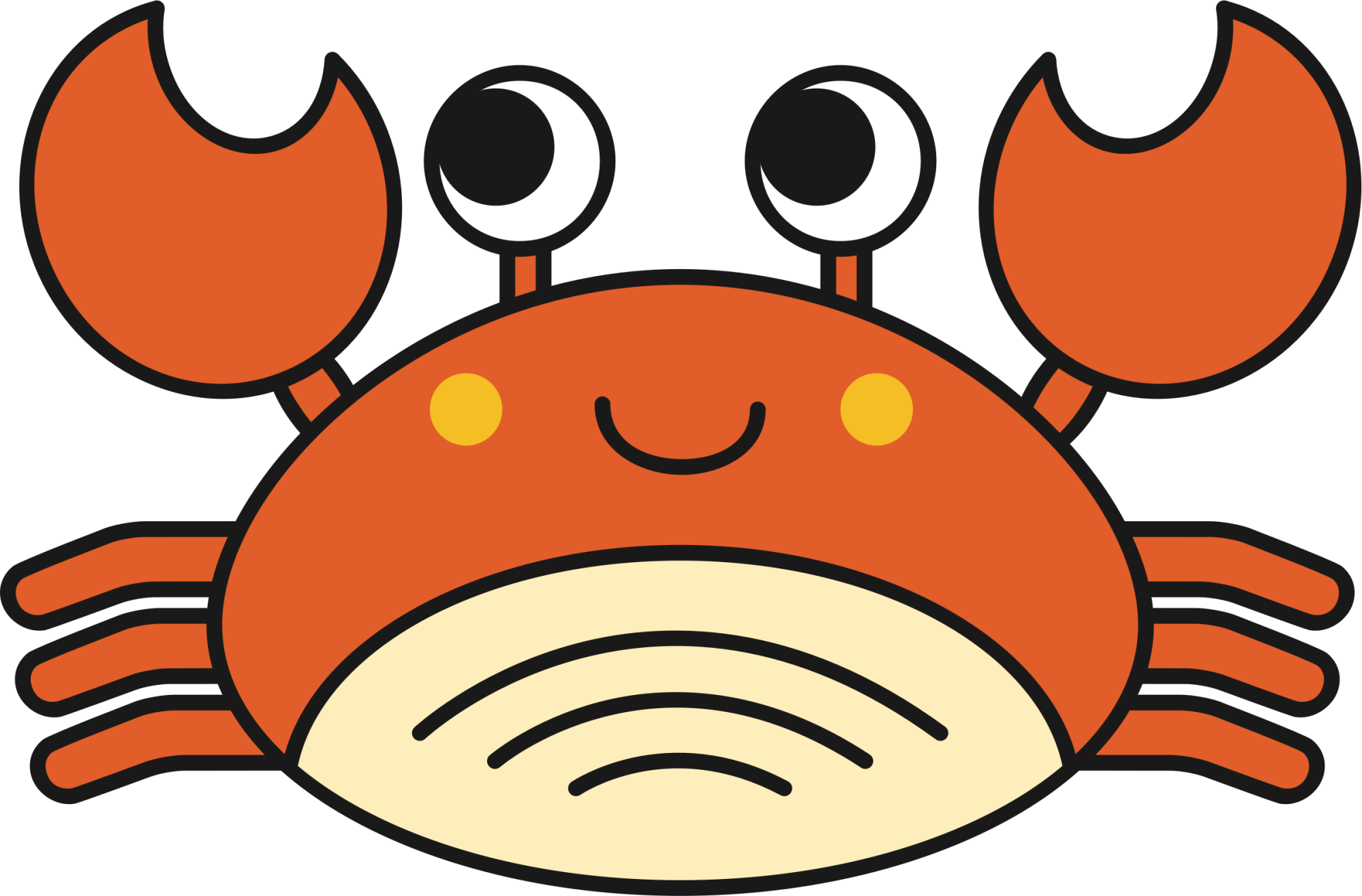 hight resolution of crab icons png free and downloads