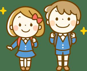 uniform boy clipart backpack transparent students backpacks webstockreview