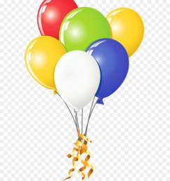 balloon clip art transparent multi color png  [ 900 x 1040 Pixel ]
