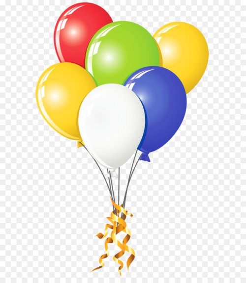 small resolution of balloon clip art transparent multi color png