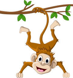 clipart monkey baboon pin by valentina on [ 2500 x 2262 Pixel ]