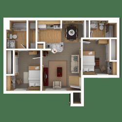 shelf bathroom clipart transparent bedroom webstockreview