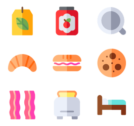 breakfast bed clipart transparent webstockreview svg packs icon
