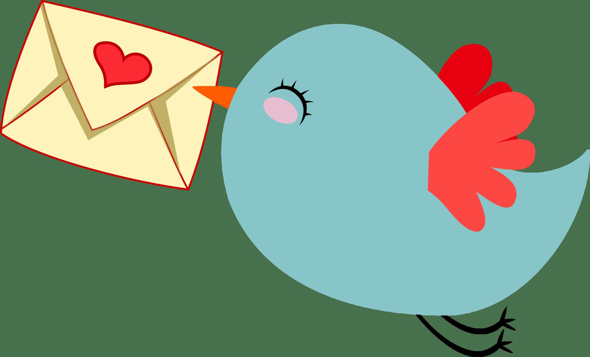 hight resolution of cute mail carrier bird by gdj pinterest office clipart farewell