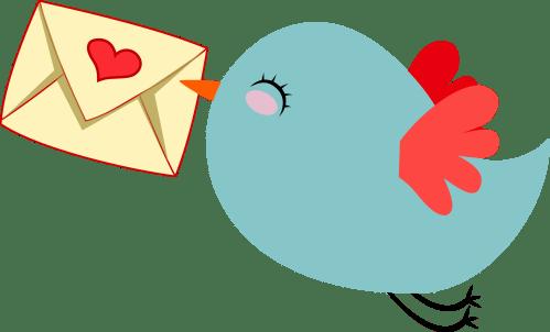 small resolution of cute mail carrier bird by gdj pinterest office clipart farewell