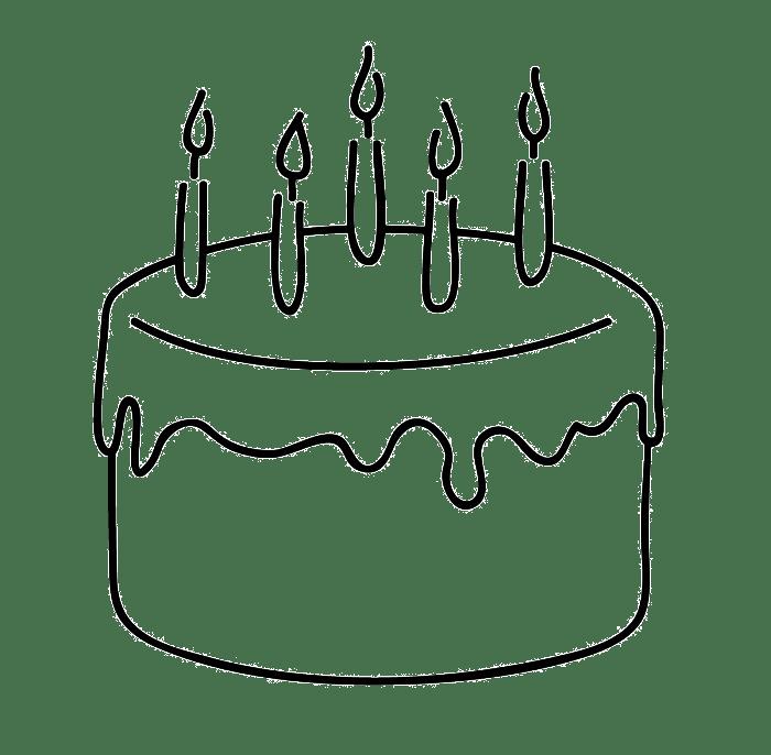 Clipart birthday simple, Clipart birthday simple