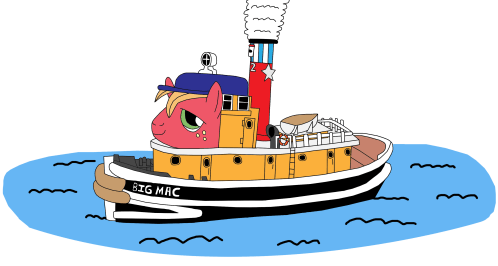 small resolution of artist equestriaguy big clipart boat tug boat