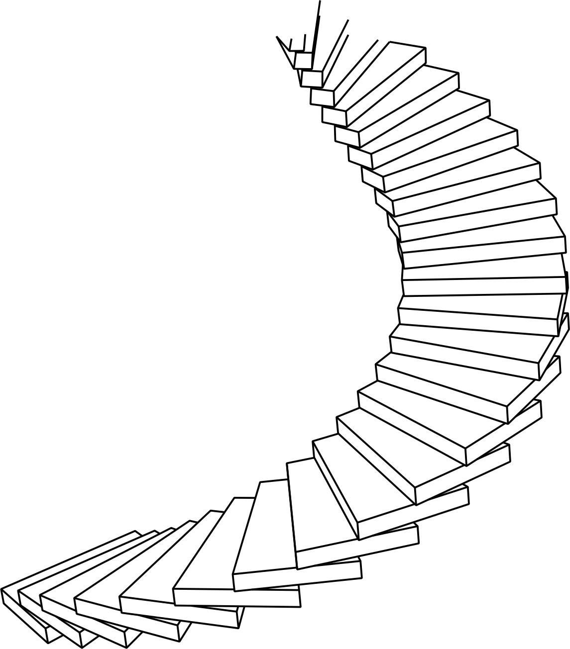 Ladder clipart line drawing, Ladder line drawing