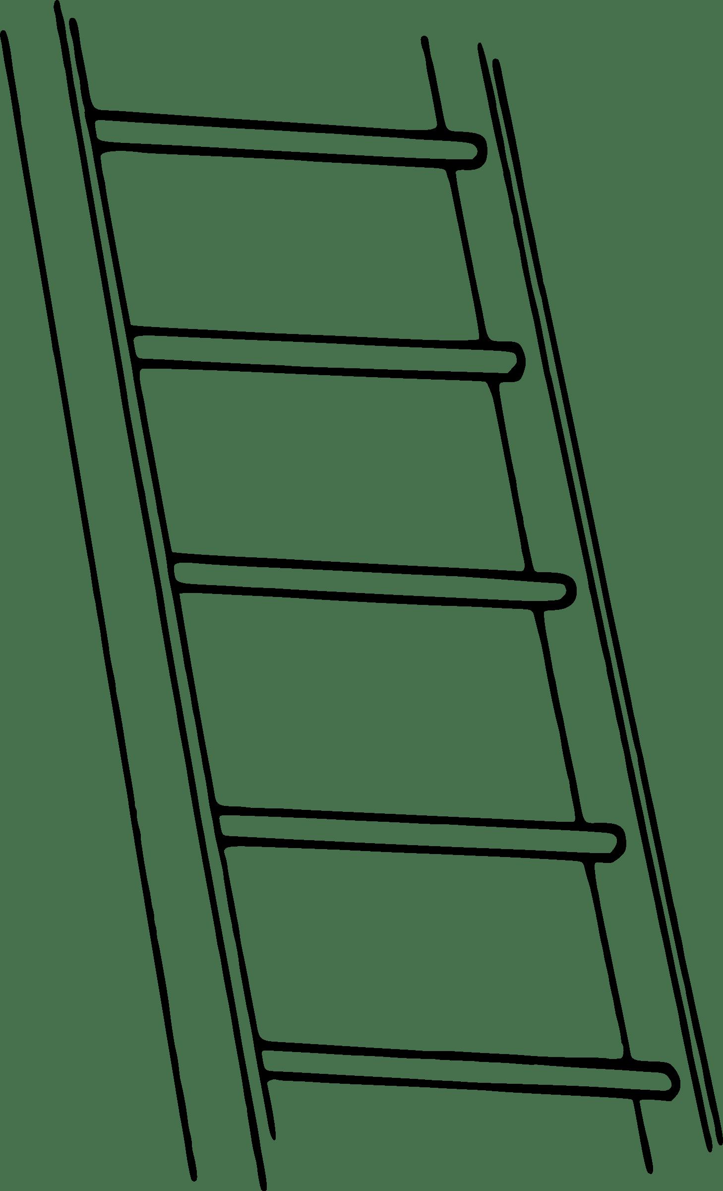 Ladder Clipart Blank Ladder Blank Transparent Free For