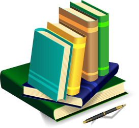 clipart transparent books collection teal webstockreview