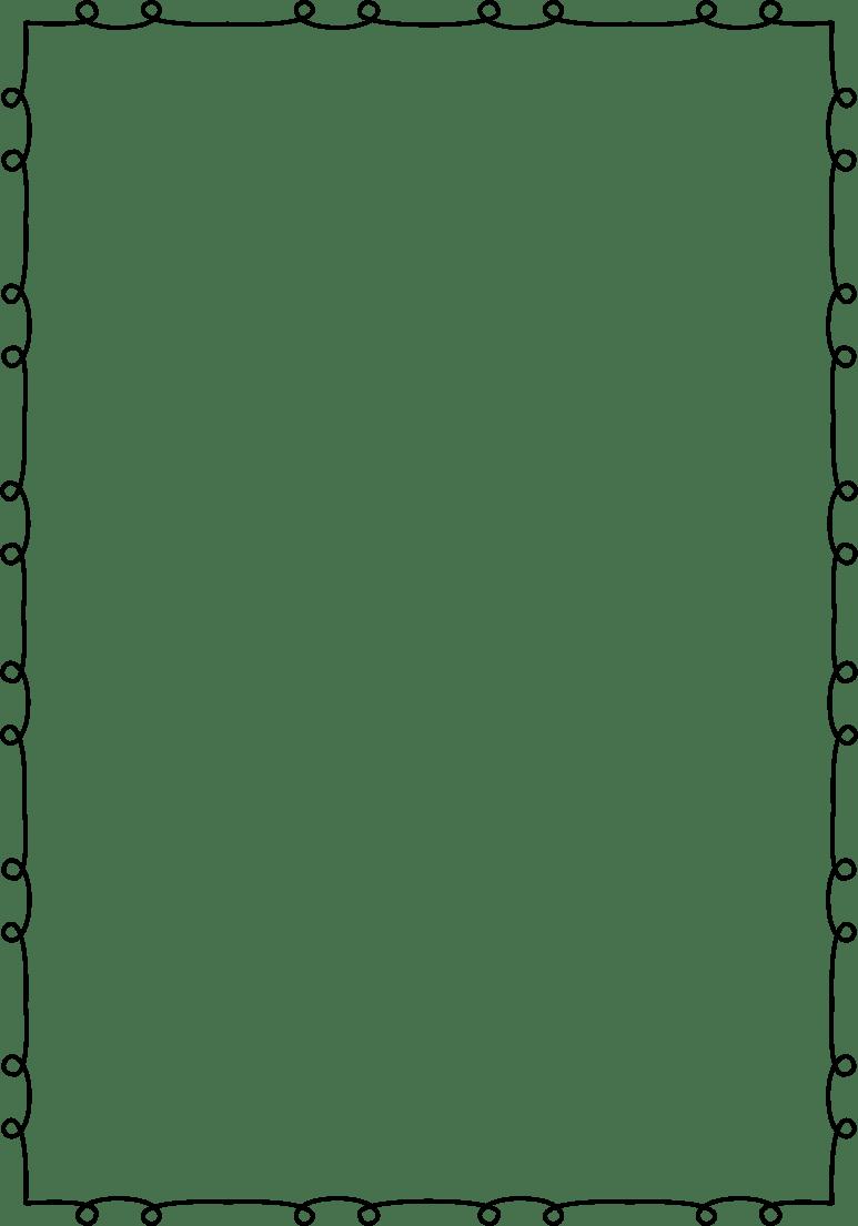 Clipart border number, Clipart border number Transparent