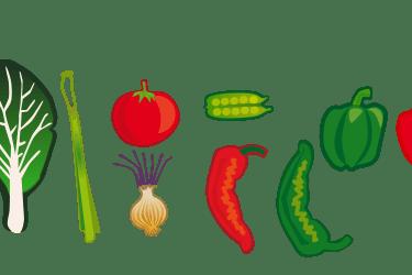 clipart vegetables garden vegetable clip cartoon border transparent webstockreview clipground