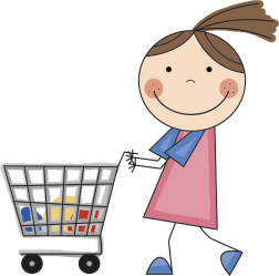 shopping clipart transparent kid boy webstockreview collection