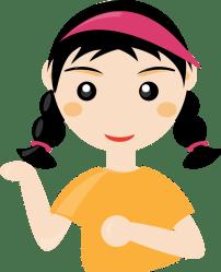 student clipart cartoon cute transparent students woman google chinese frame vector domain girl2 library doodle clip comic maedchen recherche boy