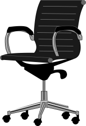 chair office clipart chairs tall clip transparent furniture desk sit gaming animated comfy icon webstockreview vs beginner transcriber quick tips