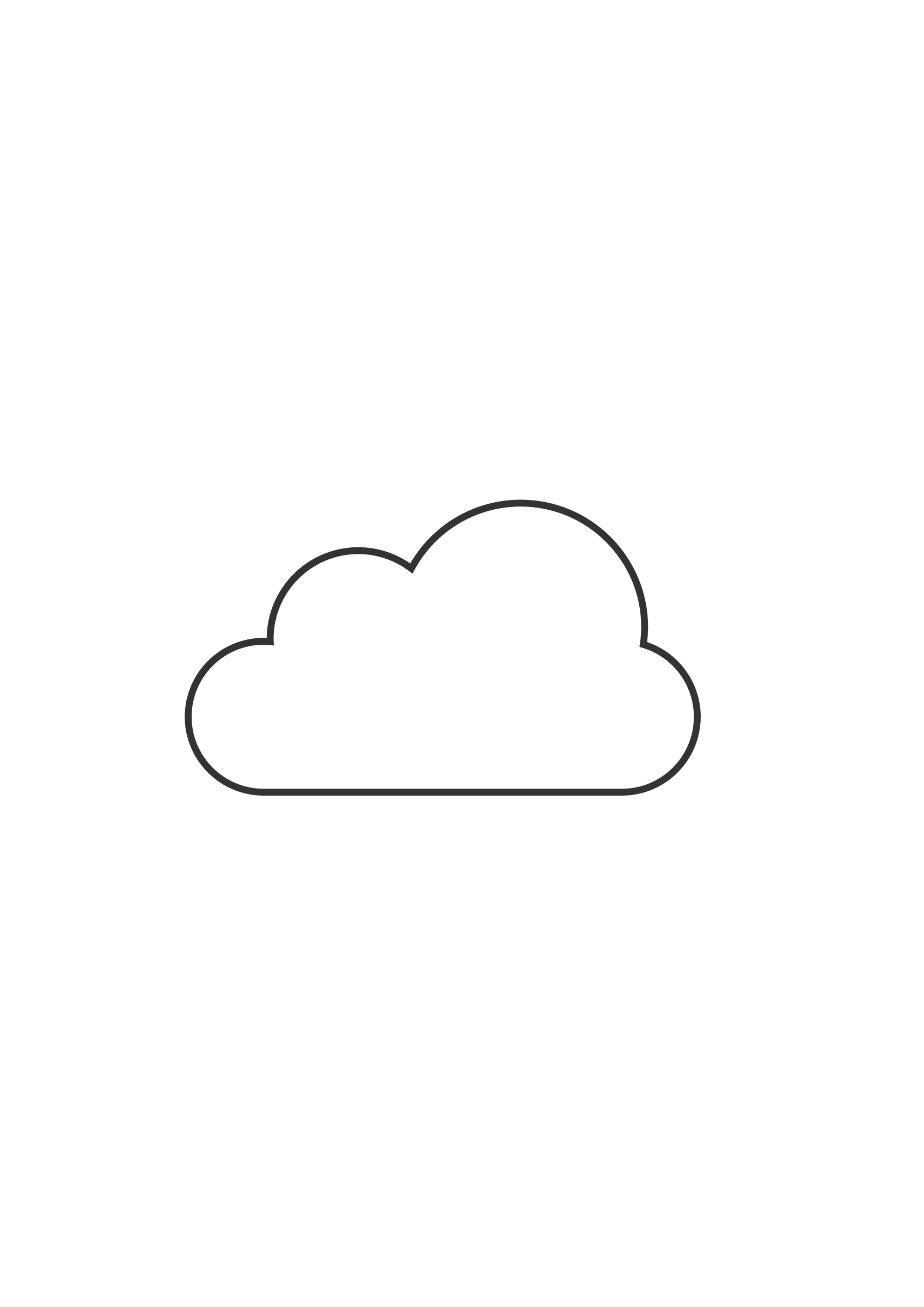 Cloud Drawing Easy : cloud, drawing, Clouds, Clipart, Simple,, Simple, Transparent, Download, WebStockReview
