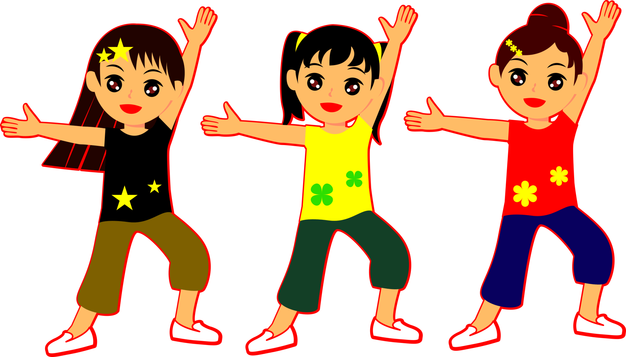hight resolution of dancing girls big image png group clipart