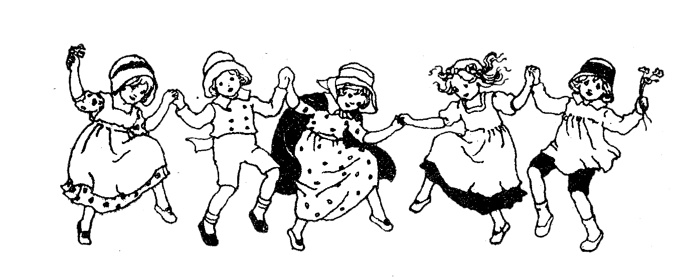 Drawing clipart dancing kid, Drawing dancing kid