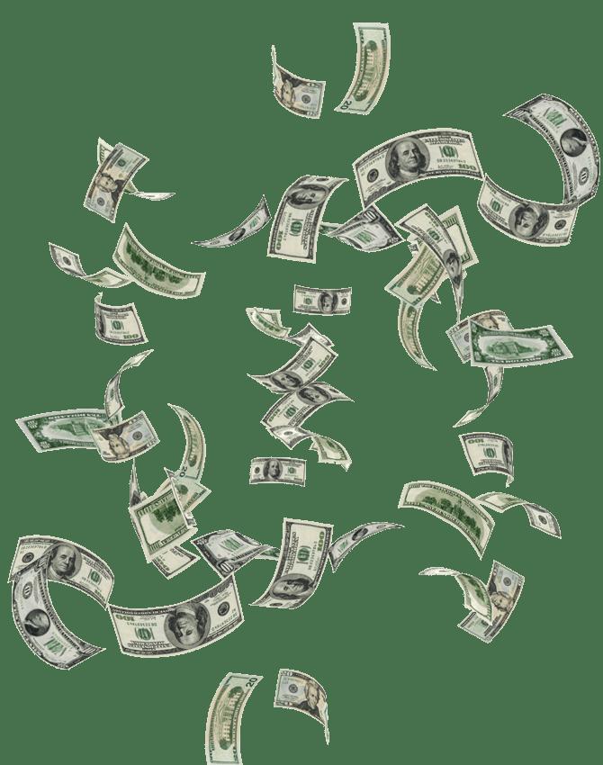 Money Flying Png : money, flying, Money, Falling, Transparent, Download, WebStockReview