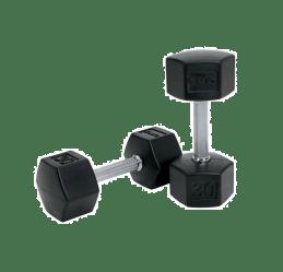 dumbbells clipart dumbbell transparent fitness equipment exercise dumbell excersize hex rubber tko clip webstockreview hantel total library