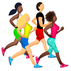 emoji running clipart exercise runner transparent marathon training afro lifestyle yoga mates cambridge sole webstockreview pain comments pngkey quick