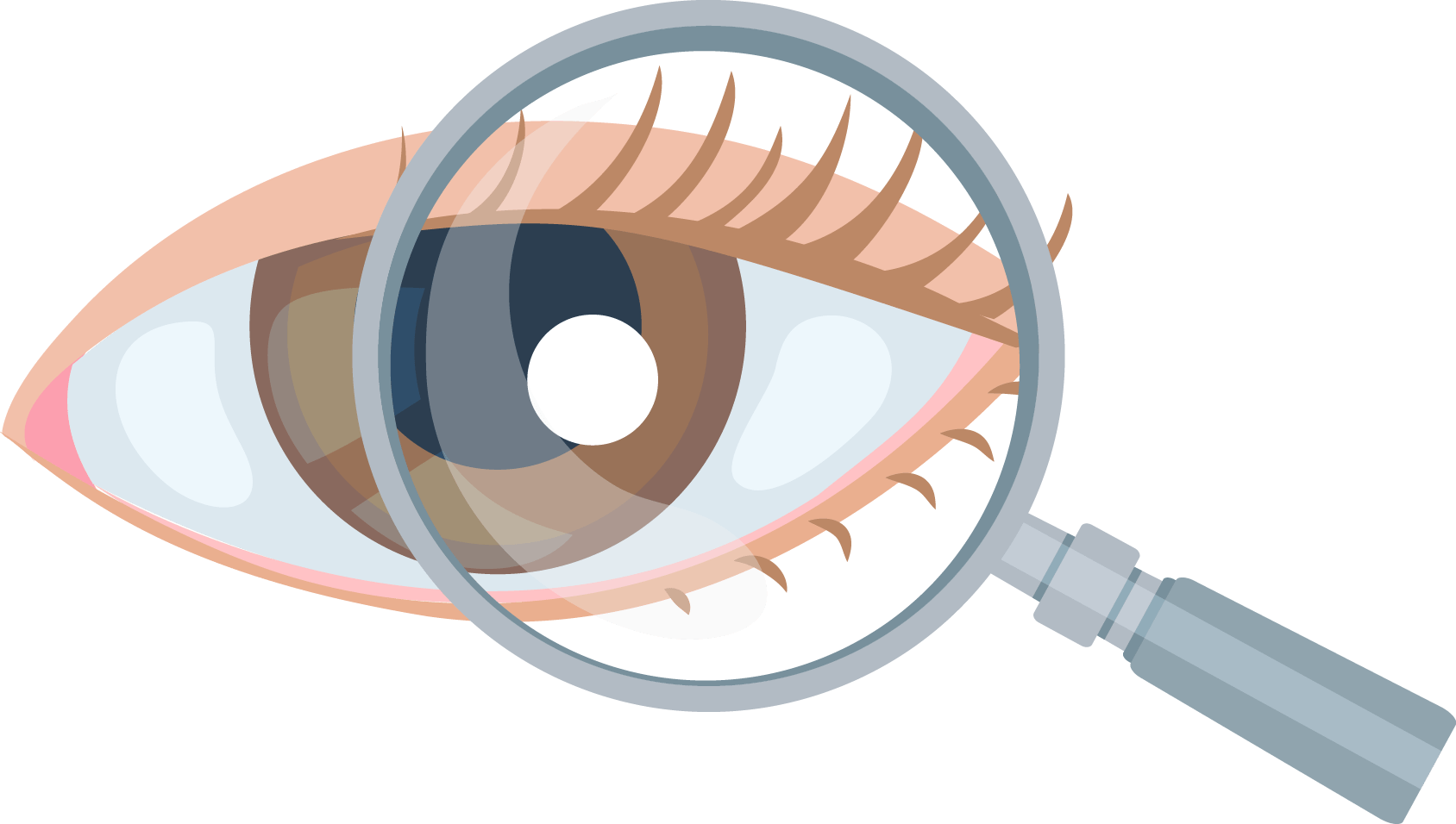 Eyes Clipart Magnifying Glass Eyes Magnifying Glass
