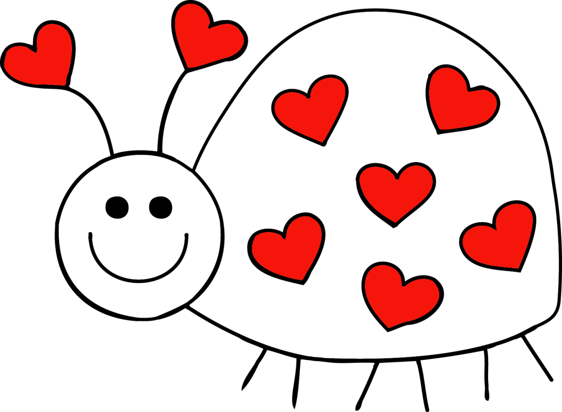 Download February clipart love bug, February love bug Transparent ...