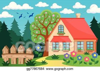 House clipart garden Picture #2829853 house clipart garden