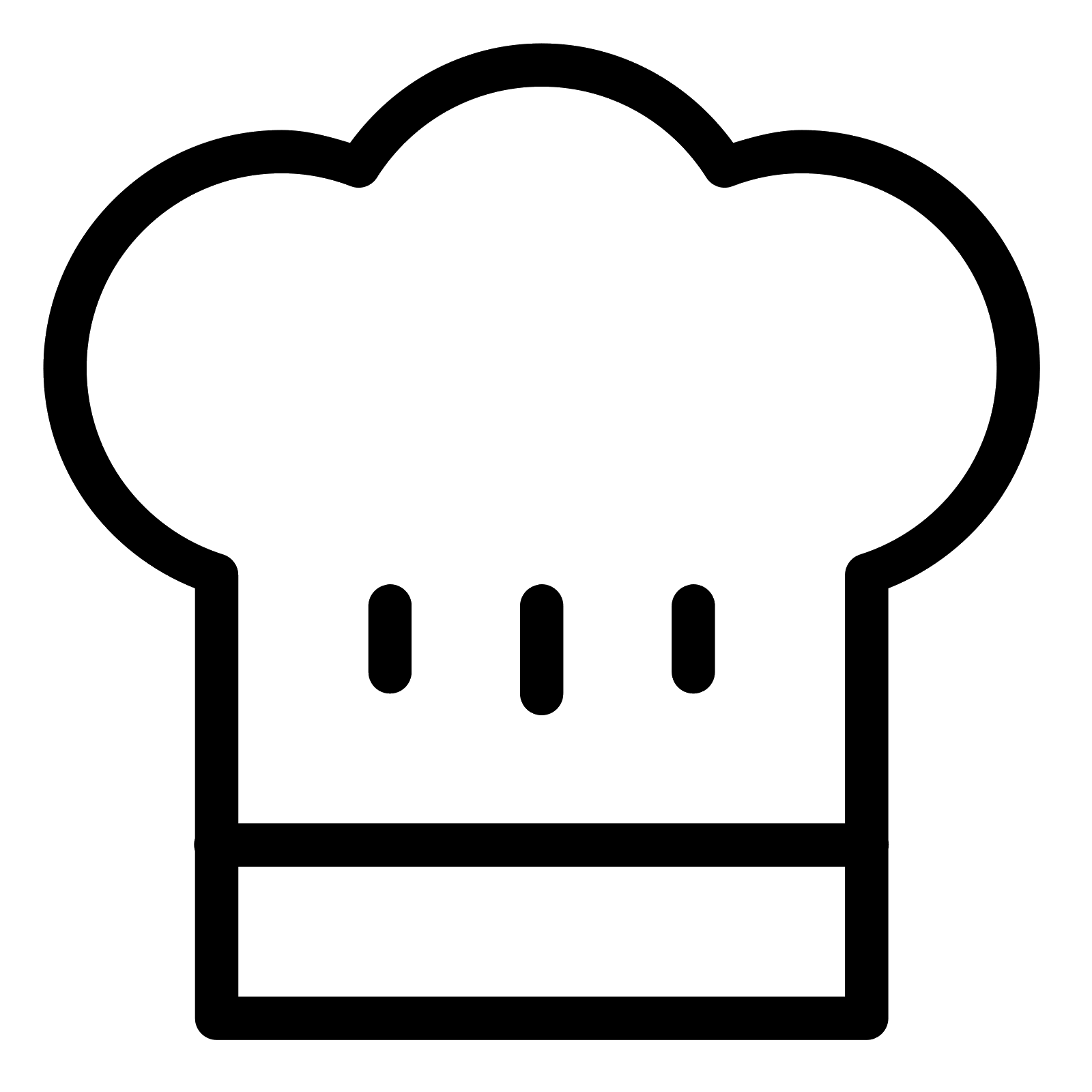 hight resolution of picture of icon free clipart restaurant chef hat