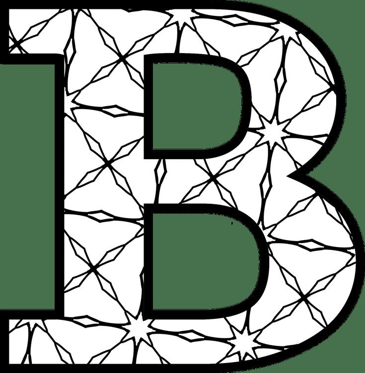 Clipart letters letter template, Clipart letters letter